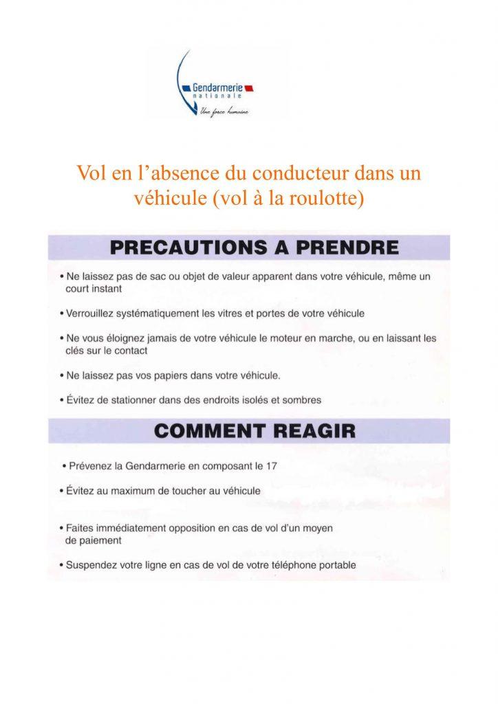 Lutte vols à la roulotte pdf